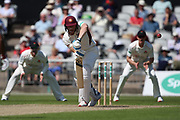Northants Steelbacks Rob Keogh  during the Specsavers County Champ Div 2 match between Lancashire County Cricket Club and Northamptonshire County Cricket Club at the Emirates, Old Trafford, Manchester, United Kingdom on 14 May 2019.