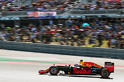 Daniel Ricciardo (AUS) Red Bull Racing RB12.<br /> 22.10.2016. Formula 1 World Championship, Rd 18, United States Grand Prix, Austin, Texas, USA, Qualifying Day.<br />  Copyright: Holland / XPB Images / action press