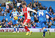 Birmingham City's Rob Kiernan during the Sky Bet Championship match between Brighton and Hove Albion and Birmingham City at the American Express Community Stadium, Brighton and Hove, England on 21 February 2015. Photo by Phil Duncan.