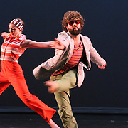 The Sho dancers Michael Rioux and Natascha Greenwalt Murphy rehearsing Wild Fruit Study 01 for Chop Shop 2010.