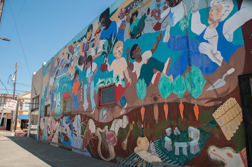 Mural on Desmond Street in Visitacion Valley | April 10, 2015