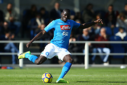 January 21, 2018 - Bergamo, Italy - Kalidou Koulibaly of Napoli  during the Italian Serie A football match Atalanta Vs Napoli on January 21, 2018 at the 'Atleti Azzurri d'Italia Stadium' in Bergamo. (Credit Image: © Matteo Ciambelli/NurPhoto via ZUMA Press)