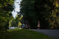Audrey Cordon-Ragot peels off the front of the Wiggle High5 train at the Crescent Vargarda - a 42.5 km team time trial, starting and finishing in Vargarda on August 11, 2017, in Vastra Gotaland, Sweden. (Photo by Sean Robinson/Velofocus.com)