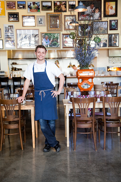 Adam Altnether, co-owner/chef at Pastaria in Clayton, MO.
