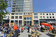 Nederland, Nijmegen, 5-5-2014Drukte in het centrum.Winkelstraat, in Nijmegen. Primark kledingwinkel op Plein 44. architectuurFoto: Flip Franssen/Hollandse Hoogte