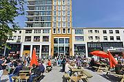Nederland, Nijmegen, 5-5-2014Drukte in het centrum.Winkelstraat, in Nijmegen. Primark kledingwinkel op Plein 44. architectuurFoto: Flip Franssen/Hollandse Hoogte