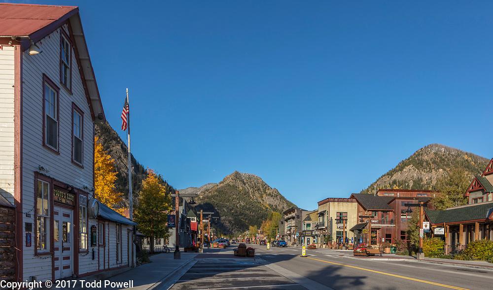Frisco Main Street, Frisco, Colorado, Fall