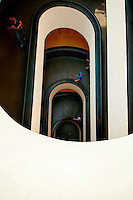 ROME, ITALY - JUNE 03: Illustration of Rome; Italy on June 03, 2012..The treasures of the Vatican. Entrance of Museums.