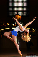 Dance As Art Grand Central Terminal with dancer Mykaila Symes