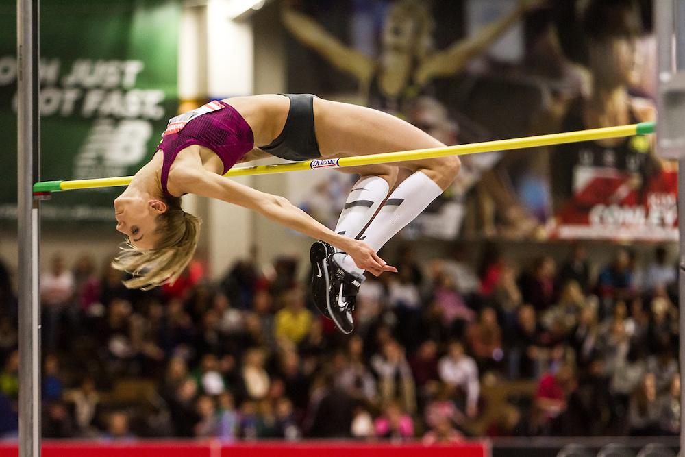 New Balance Indoor Grand Prix Track & FIeld:  women's high jump, Iryna Kovalenko, Ukraine