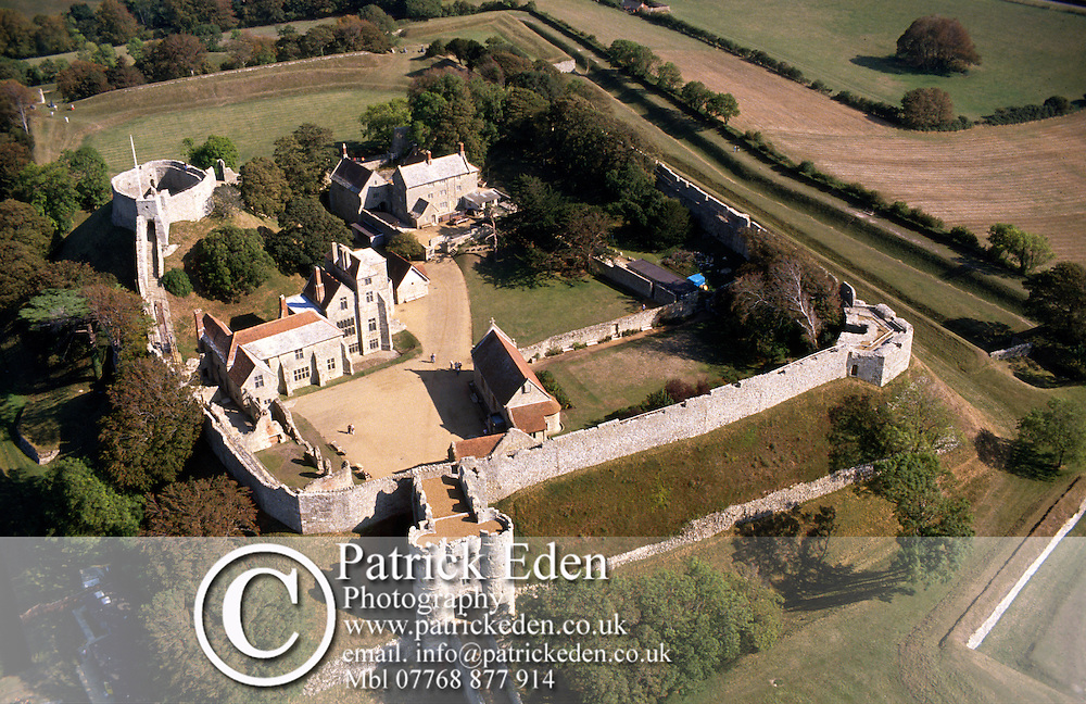 Carisbrooke Castle. Aerial Isle of Wight photography photograph canvas canvases