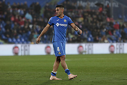 November 10, 2018 - Getafe, Madrid, Spain - Getafe CF's Bruno Gonzalez dejected during La Liga match between Getafe CF and Valencia CF at Coliseum Alfonso Perez in Getafe, Spain. November 10, 2018. (Credit Image: © A. Ware/NurPhoto via ZUMA Press)