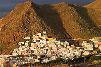 Espagne. Iles Canaries. Tenerife. Village de San Andres // Spain. Canary islands. Tenerife. San Andres village