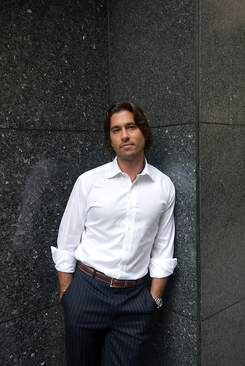 """New York, New York: Well known archaeologist Josh Bernstein poses for a portrait in New York City, to promote his new show """"Into the Unknown with Josh Bernstein"""" on the Discovery Channel. Mr. Bernstein used to be the host of the History Channels """"Digging for the Truth"""" til 2007. Bernstein is also the President and CEO of BOSS- Boulder Outdoor Survival School that is based in Boulder, Colorado. BOSS was established in 1968 and Bernstein has been with the organization for the past 19 years."""
