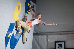 Stasa Gejo (SRB) at Fnal of Climbing event - Triglav the Rock Ljubljana 2018, on May 19, 2018 in Congress Square, Ljubljana, Slovenia. Photo by Urban Urbanc / Sportida