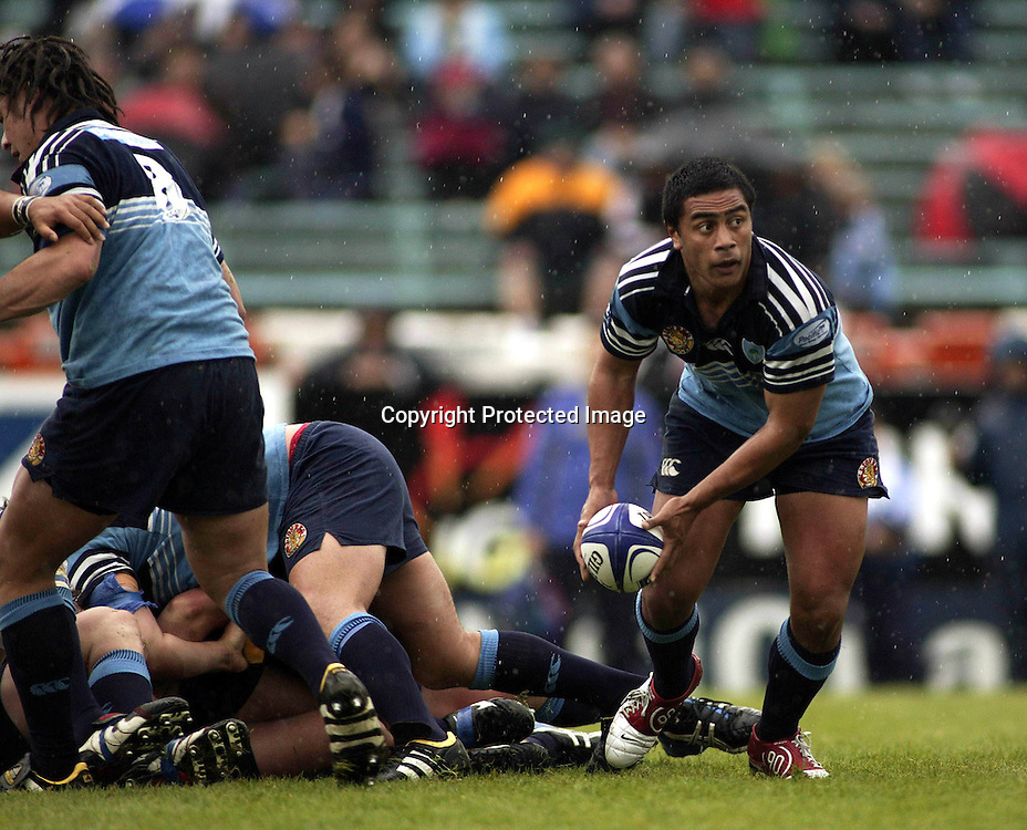 Northland Halfback John Senio in action.<br />