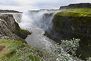 Dettifoss is believed to be one of the most powerful waterfalls in Europe.