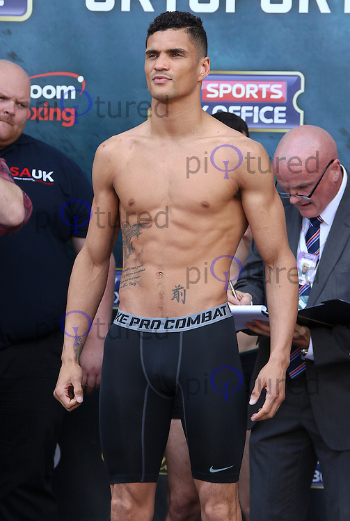 Anthony Ogogo, Joshua v Breazeale: The Weigh-In, Covent Garden West Piazza, London UK, 24 June 2016, Photo by Brett D. Cove