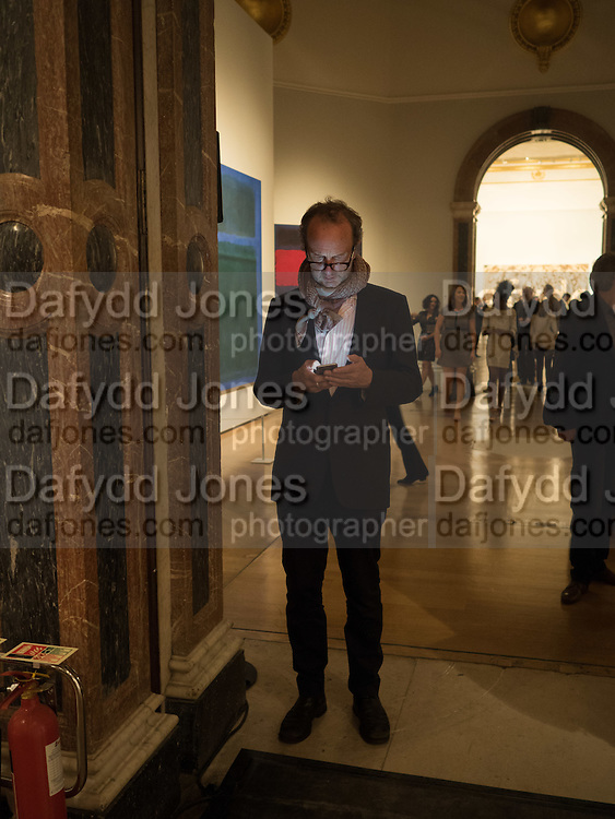 JOHNNIE SHAND KYDD, Opening of Abstract Expressionism, Royal Academy, Piccadilly, London, 20 September 2016