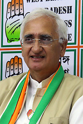 May 4, 2019 - Kolkata, West  Bengal, India - Indian National Congress leader Salman Khursid inter act with media at West Bengal Congress office ahead of Lok Sabha poll. (Credit Image: © Saikat Paul/Pacific Press via ZUMA Wire)