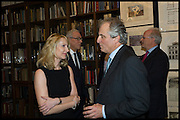 VICKY WARD; LORD ASTOR  Book party for 'The Liar's Ball' by Vicky Ward hosted by  Sir Evelyn  de Rothschild at Henry Sotheran's, 2 Sackville Street London. 25 November 2014