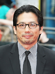 © Licensed to London News Pictures. Hiroyuki Sanada at The Wolverine UK film premiere, Leicester Square, London UK, 16 July 2013. Photo by Richard Goldschmidt/LNP