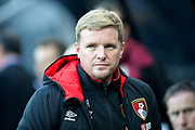 AFC Bournemouth manager Eddie Howe during the Premier League match between Newcastle United and Bournemouth at St. James's Park, Newcastle, England on 4 November 2017. Photo by Craig Doyle.