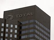 headquarter of oil major total, paris, ladefense