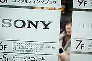 The Sony logo in front of the Ginza Place building in Tokyo on February 2nd, 2018. On 1st of April, Sony will have its current CEO Kaz Hirai replaced by the current CFO Kenichiro Yoshida. The news has been made official earlier today by Sony during a press conference 02/02/2018-Tokyo, JAPAN