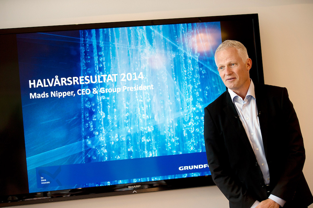 CEO & Group President Grundfoss Mads Nipper