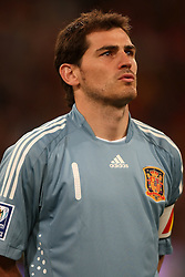 11.03.2010, Madrid, Spanien, ESP, Nationalmannschaft Spanien, Portraits im Bild Iker Casillas, Nationalspieler Spanien, Bild aufgenommen am 28.03.2009, EXPA Pictures © 2010, PhotoCredit: EXPA/ Alterphotos/ Alvaro Hernandez / for Slovenia SPORTIDA PHOTO AGENCY.