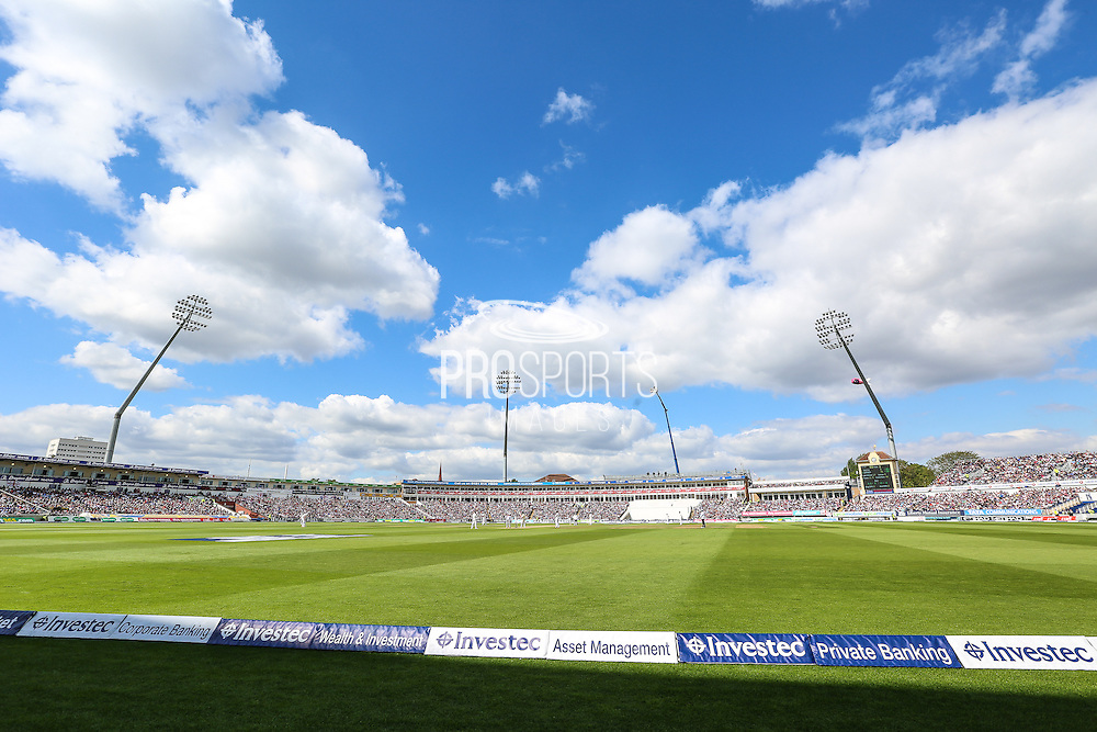 Edgbaston during the 3rd Investec Ashes Test match between England and Australia at Edgbaston, Birmingham, United Kingdom on 30 July 2015. Photo by Shane Healey.