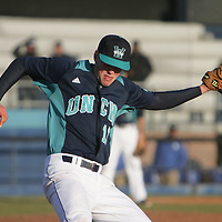 The University of Kentucky faced the University of North Carolina at Wilmington on the second day of the Hughes Brothers Challenge Saturday February 15, 2014 at Brooks Field on the campus of the University of North Carolina at Wilmington in Wilmington, N.C. (Jason A. Frizzelle)