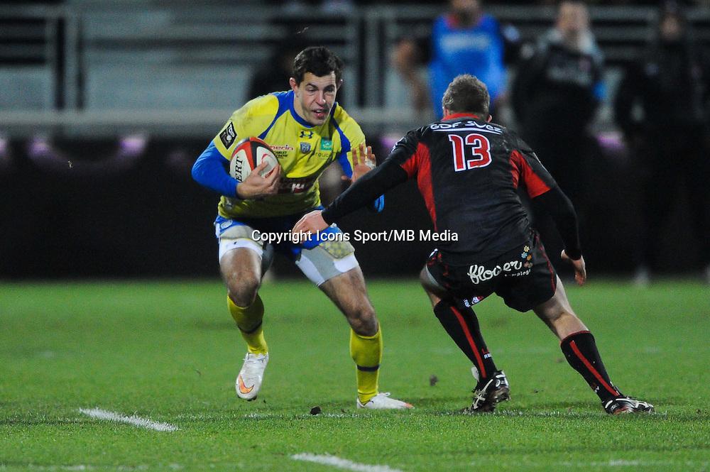 Jean Marcellin Buttin - 28.12.2014 - Lyon Olympique / Clermont - 14eme journee de Top 14 <br />Photo : Jean Paul Thomas / Icon Sport