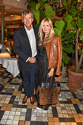 Amanda Wakeley and Hugh Morrison at The Ivy Chelsea Garden Summer Party ,The Ivy Chelsea Garden, King's Road, London, England. 14 May 2019. <br /> <br /> ***For fees please contact us prior to publication***