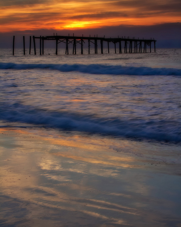 Sunrise at Ocean City, New Jersey