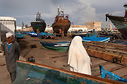 The walled harbour and ramparts of Essaouira provide a medieval backdrop to the waterfront at this ancient fishing port.Orson Welles' Othello was filmed here and Jimi Hendrix used to hang out here.