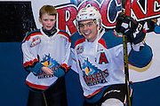 KELOWNA, CANADA - FEBRUARY 22:  Pepsi Player of the game with Nick Merkley #10 of the Kelowna Rockets at the Kelowna Rockets game on February 22, 2017 at Prospera Place in Kelowna, British Columbia, Canada.  (Photo By Cindy Rogers/Nyasa Photography,  *** Local Caption ***