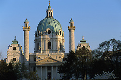 AUSTRIA VIENNA APR02 - Impressions from Vienna. Karlsplatz &amp; Karlskirche.<br /> <br /> jre/Photo by Jiri Rezac<br /> <br /> &copy; Jiri Rezac 2002<br /> <br /> Contact: +44 (0) 7050 110 417<br /> Mobile:  +44 (0) 7801 337 683<br /> Office:  +44 (0) 20 8968 9635<br /> <br /> Email:   jiri@jirirezac.com<br /> Web:     www.jirirezac.com