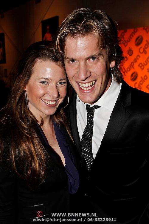 NLD/Hilversum/20100303 - Harpengala 2010, Nick Nielsen en partner Joyce Van Den Noort