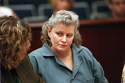 ORG XMIT:  DANA10    Neg.     Dana Sue Gray, accused of multiple murders,  sits in a Riverside courtroom Wednesday where she pleaded guilty to get life without parole to avoid death penalty.