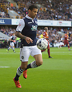 Carlos Edwards of Millwall during the Sky Bet League 1 Playoff Semi-final Leg Two at The Den, London<br /> Picture by Alan Stanford/Focus Images Ltd +44 7915 056117<br /> 20/05/2016
