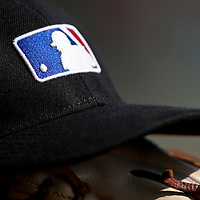 Baseball - MLB European Academy - Tirrenia (Italy) - 22/08/2009 - Cap and glove, MLB logo