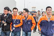 CHINA / Chengdu  /  12/11/2013<br /> <br /> Volvo Cars Plant in Chengdu<br /> <br /> &copy; Daniele Mattioli