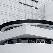 NEW YORK - SEPTEMBER 01: The Solomon R. Guggenheim Museum of modern and contemporary art, located on Manhattan, on September 01, 2013, in New York City, USA. Designed by Frank Lloyd Wright, is one of the 20th century's most important architectural landmarks, opened on October 21,1959.