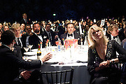 BENEDICT CUMBERBATCH; EVGENY LEBEDEV; DAVID WALLIAMS; LOUISE FENNELL, Grey Goose Winter Ball to Benefit the Elton John AIDS Foundation. Battersea park. London. 29 October 2011. <br /> <br />  , -DO NOT ARCHIVE-© Copyright Photograph by Dafydd Jones. 248 Clapham Rd. London SW9 0PZ. Tel 0207 820 0771. www.dafjones.com.