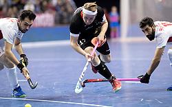 BERLIN - Indoor Hockey World Cup<br /> Semi-final 1: Germany - Iran<br /> foto: Christopher R&uuml;hr.<br /> WORLDSPORTPICS COPYRIGHT FRANK UIJLENBROEK