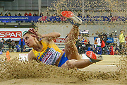 Maryna Bekh-Romanchuk (Ukraine) Long Jump, during the European Athletics Indoor Championships 2019 at Emirates Arena, Glasgow, United Kingdom on 1 March 2019.