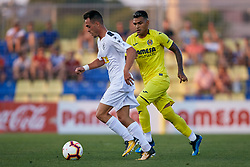 July 17, 2018 - Villareal, Castellon, Spain - Victor (R) of Hercules CF competes for the ball with Nahuel of Villarreal during the Pre-Season Friendly match between Villarreal CF and Hercules CF at Mini Estadi on July 17, 2018 in Vila-real, Spain  (Credit Image: © David Aliaga/NurPhoto via ZUMA Press)