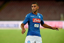August 10, 2017 - Naples, Naples, Italy - Faouzi Ghoulam of SSC Napoli  during the Pre-season Frendly match between SSC Napoli and RCD Espanyol at Stadio San Paolo Naples Italy on 10 August 2017. (Credit Image: © Franco Romano/NurPhoto via ZUMA Press)